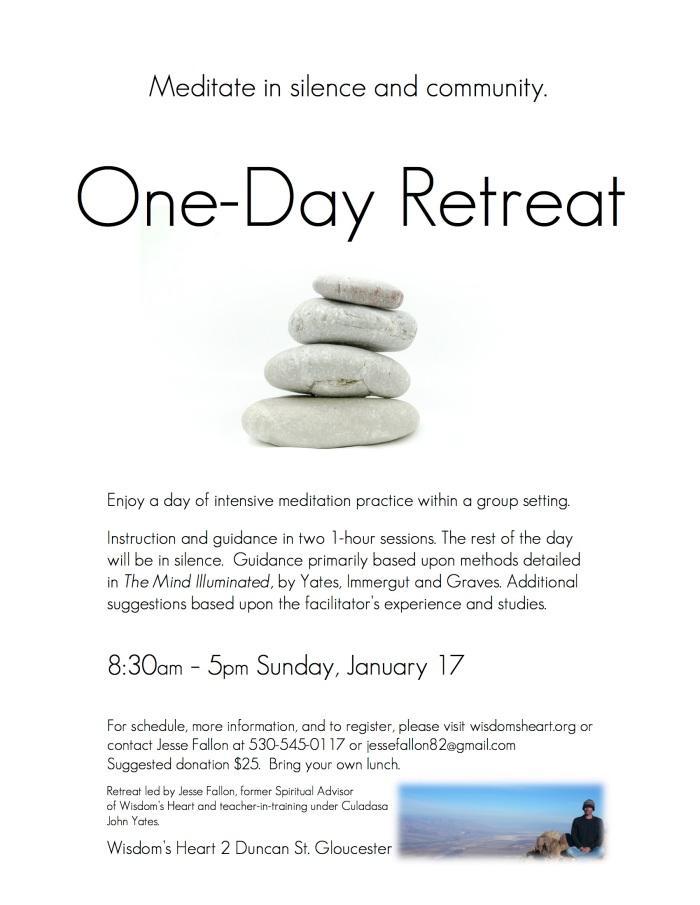 OneDay Retreat Flyer2
