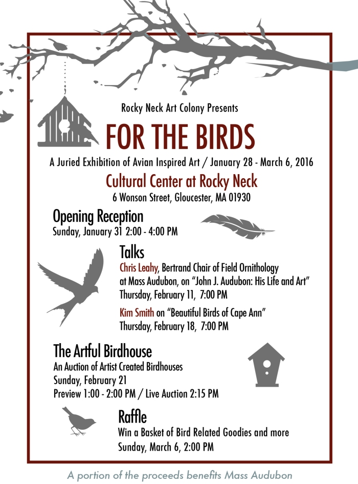 Bird Exhibit Rocky Neck Art colony (1)