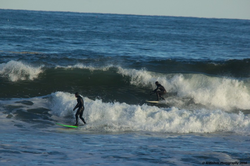 January 25, 2016 surfing at Brace Cove