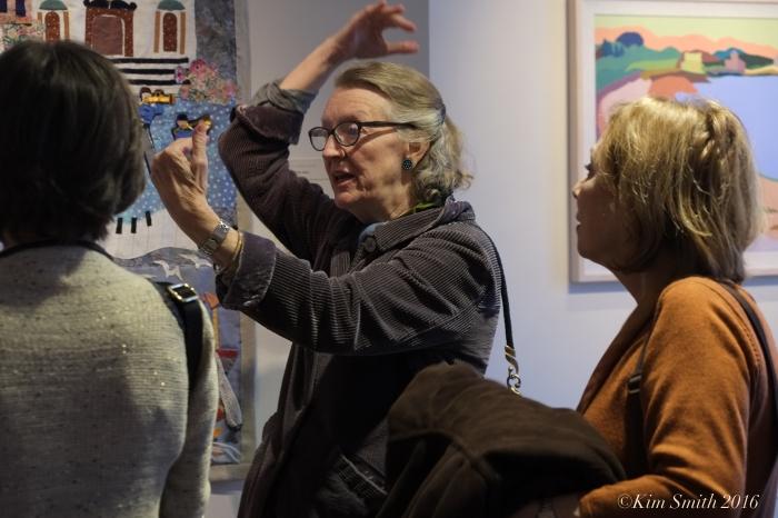 Kathleen Adams Juni Van Dyke Cape ann Museum The Neighborhood Quilt Project ©Kim Smith 2016.JPG