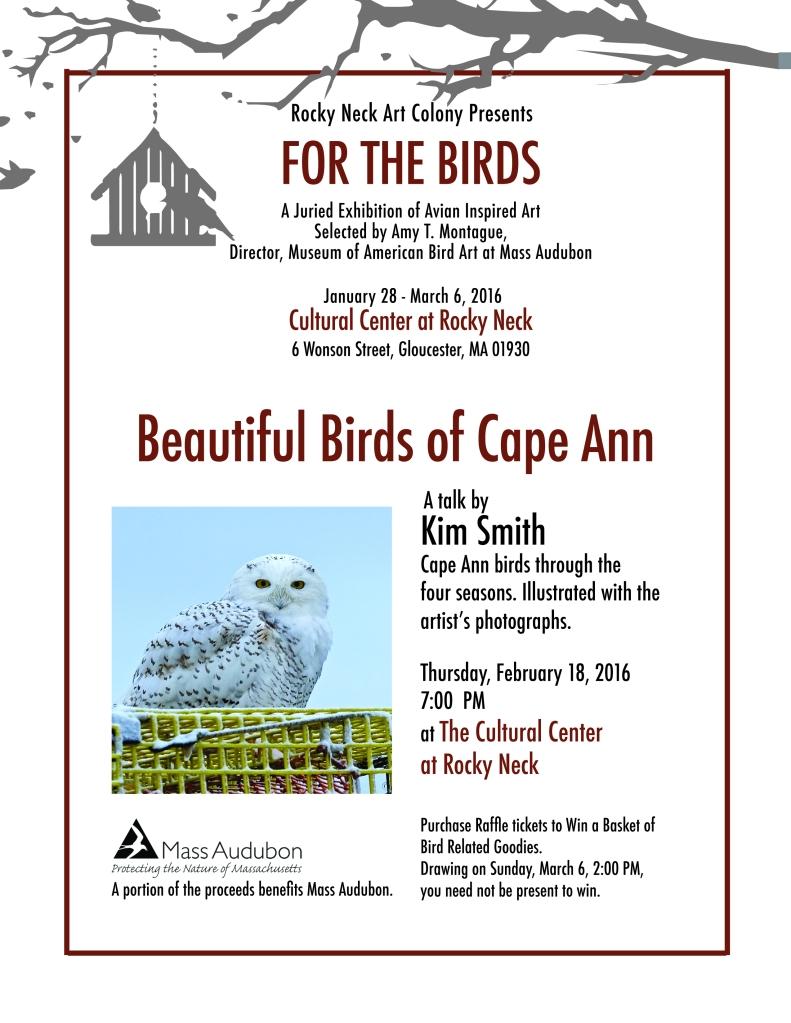 Kim Smith Bird talk Rocky neck (1)