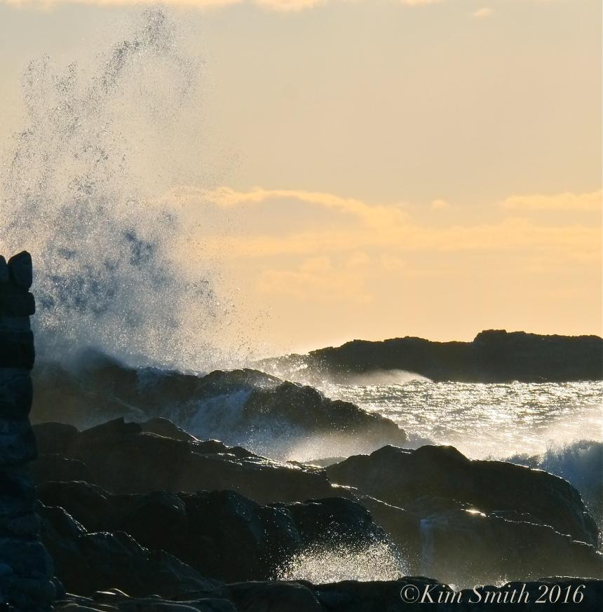 Pebble Beach Rockport Ocean Waves ©Kim Smith 2016