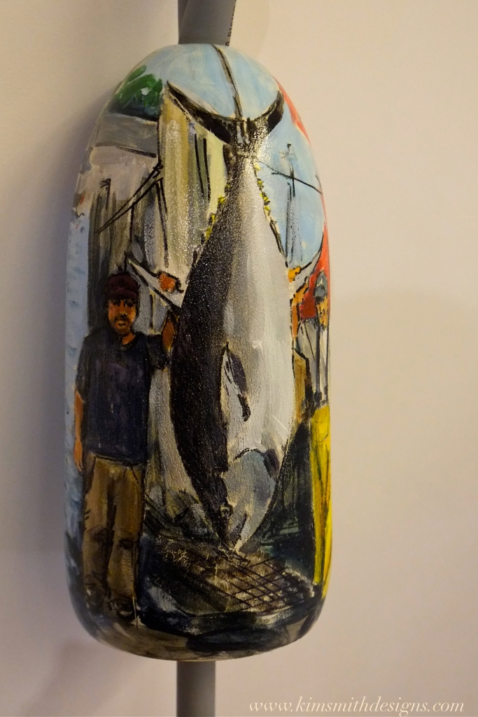 Traci Corbett Cape Ann Art Haven Buoy Auction @www.kimsmithdesigns.com