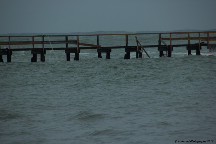 February 9, 2016 Magnolia Pier some damage