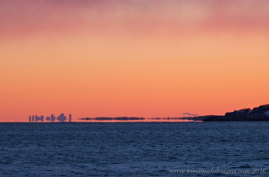 Gloucester to Boston skyline Niles Beach sunset www.kimsmithdesigns.com -3