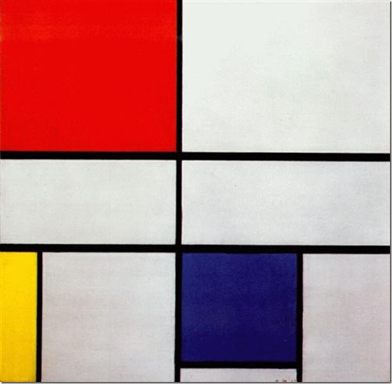 Mondrian Composition C-No-III