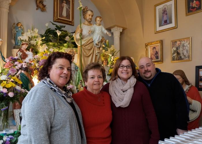 Ann Margaret Ferrante Feast of Saint Joseph 2016 -6 Kim Smith