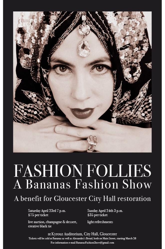 Bananas fashion show