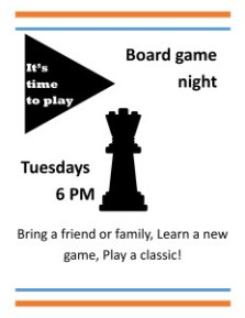Board Game Flyer
