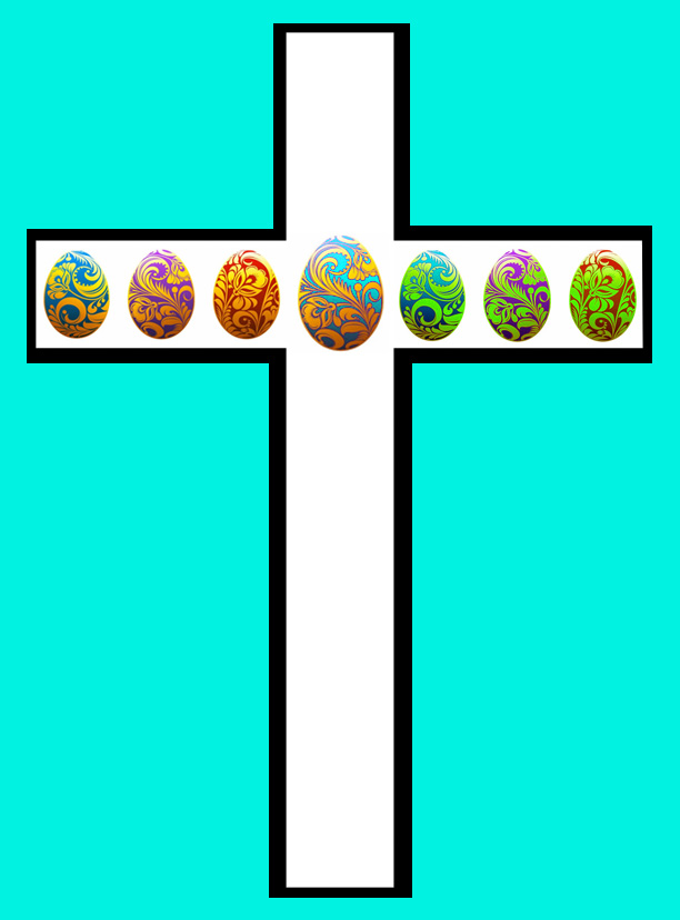 easter eggs and easter