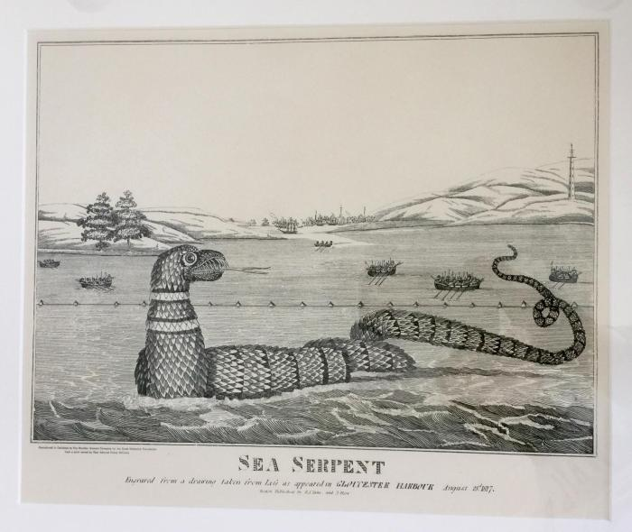 This Sea Serpent I got straight from Fred Bodin.