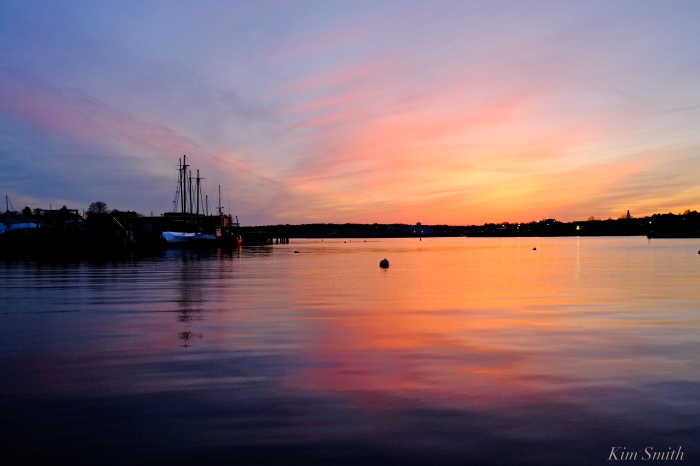 Gloucester Harbor Smiths Cove sunset Kim Smith