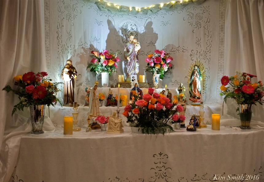 Groppo Novena Saint joseph altar 2016 Gloucester Saint Joseph - Kim Smith