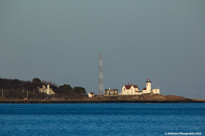 March 3, 2016 Eastern Point Lighthouse from Shore Road