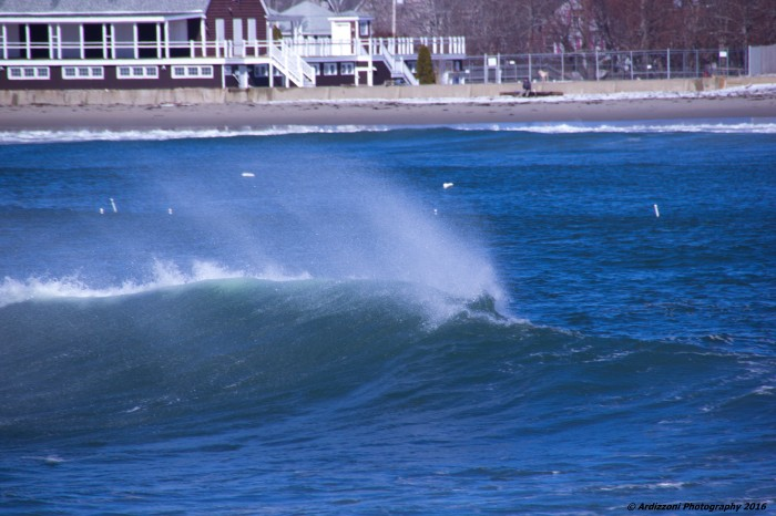 March 5, 2016 Spindrifts coming onto Magnolia Beach