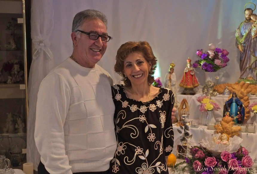 Nina and Frank Groppo Saint Joseph Feast ©Kim Smith 2014 -2