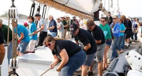 setting sail schooner race 2014
