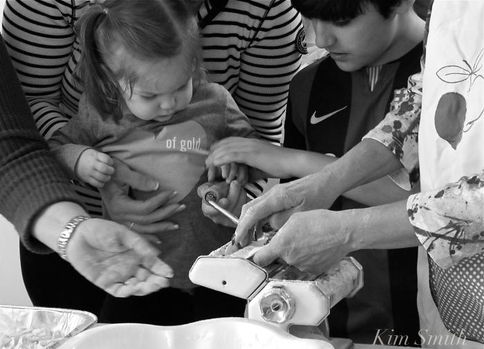 The gentle hands that teach Feast of Saint Joseph food Kim Smith 2016