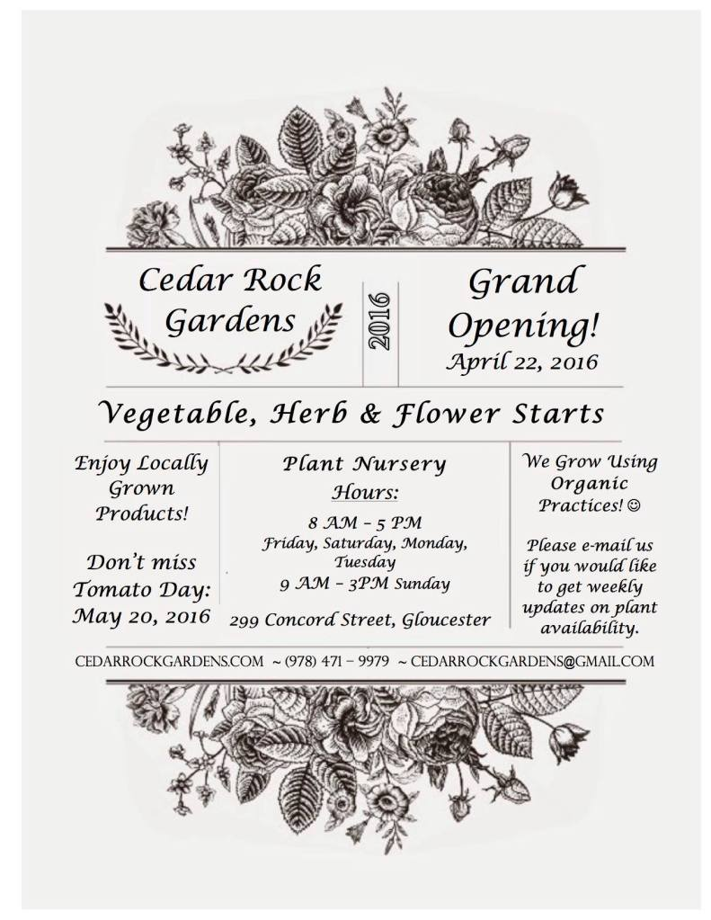 Cedar Rock Gardens