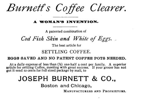 coffee settler