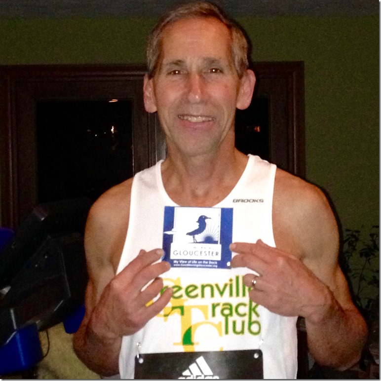 Dennis Born to Run Boston 2016