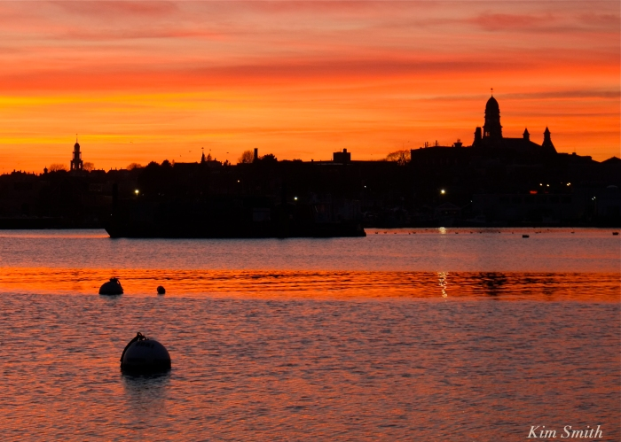 Gloucester City skyline sunset -1 Kim Smith