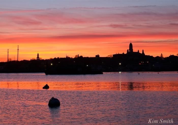 Gloucester City skyline sunset -2 Kim Smith