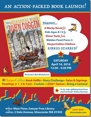 Mechanical Mind of John Coggin - Book Launch Poster