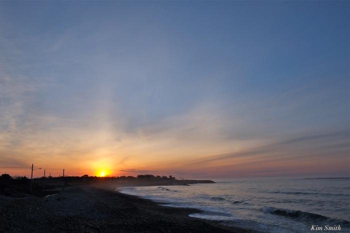 Pebble Beach sunrise Rockport Kim Smith