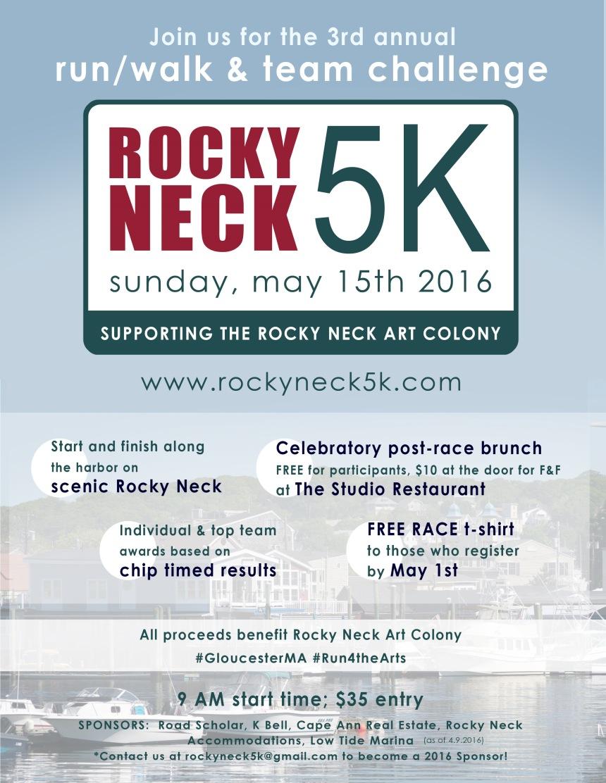 Rocky Neck 5K poster