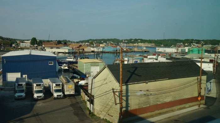 View Of Gloucester MA Harbor Cove From 2nd Floor Beauport Hotel