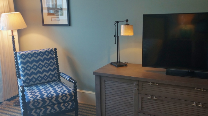 Bedroom Chair and Dresser Beauport Hotel Gloucester MA