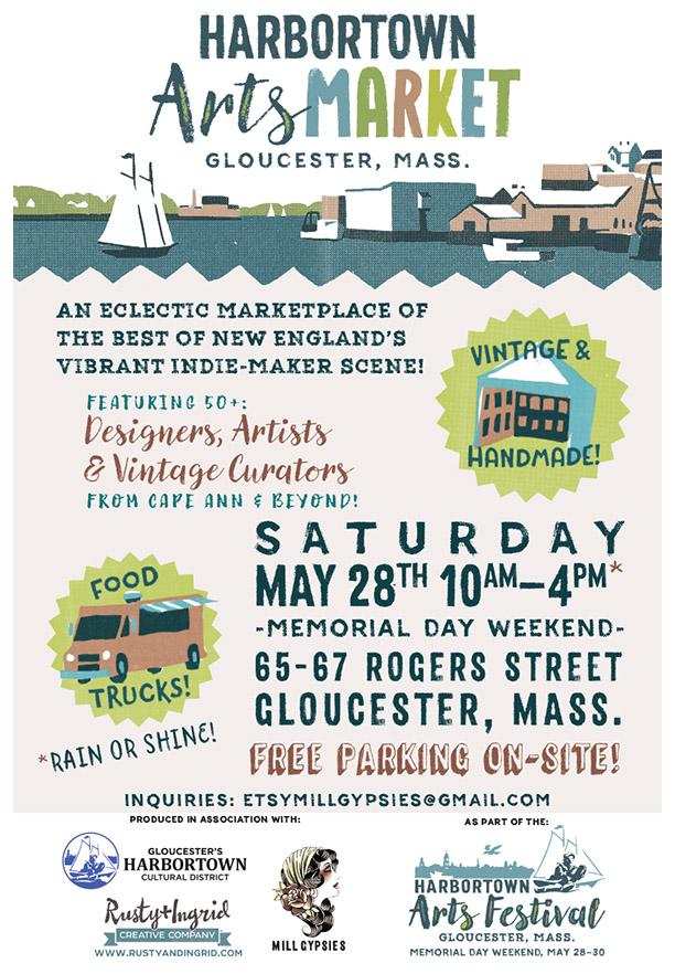 Harbortown Arts Market-11x17-poster