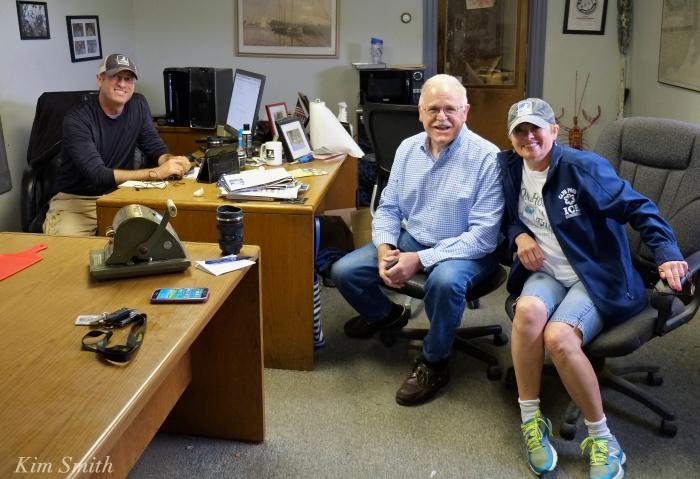 Joey Ciaramitaro, Donna, Tim Sanborn podcast copyright Kim Smith
