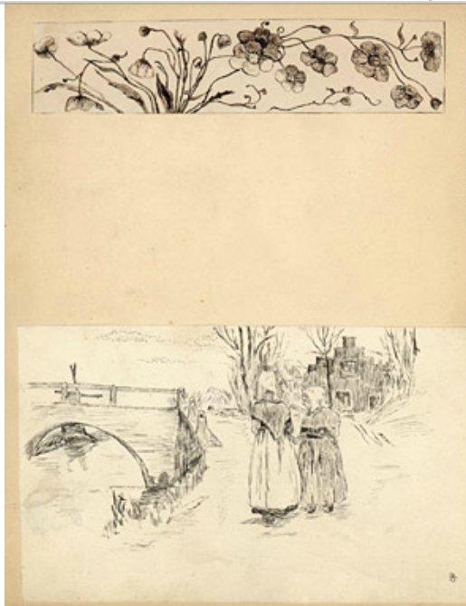John McCrae sketch book 1896, Maryland