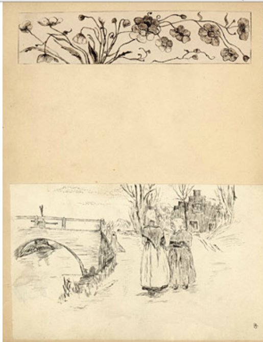John McCrae sketch book 1896, Maryland