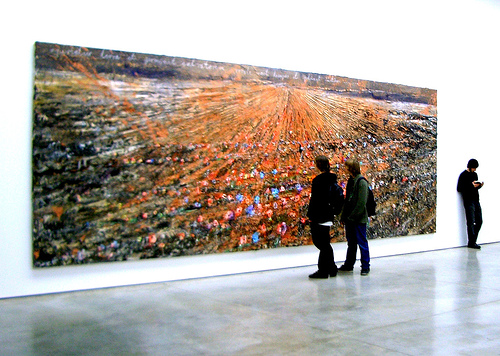 Kiefer large poppy painting