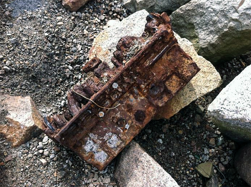 rusted thing