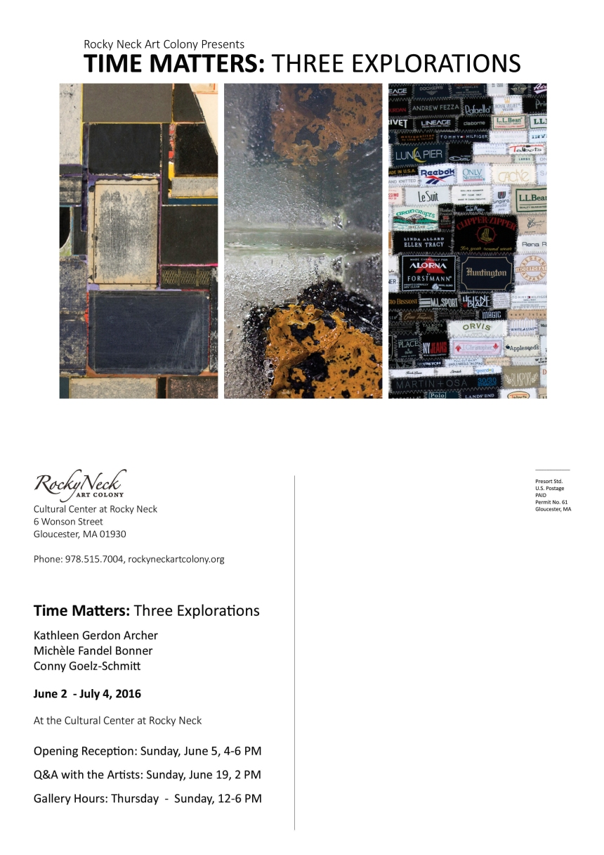 time matters postcard