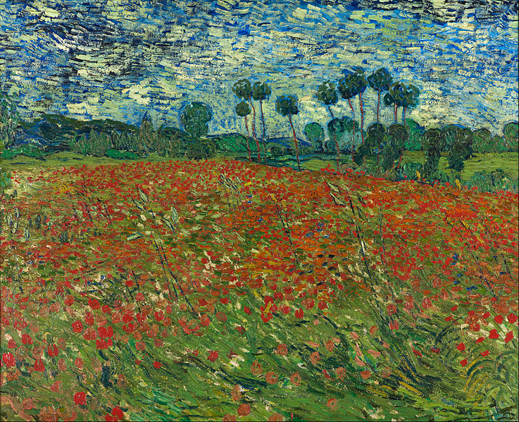 Vincent_van_Gogh_-_Poppy_field_-_Google_Art_Project hague 1890