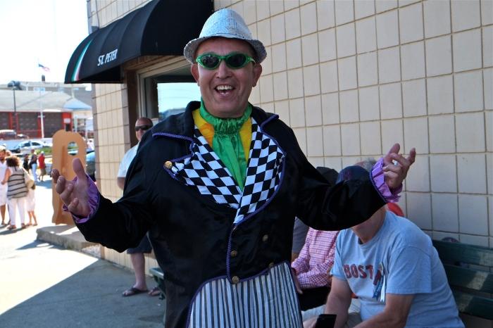 Anthony Giambanco Sunday Greasy Pole Walkers copyright Kim Smith