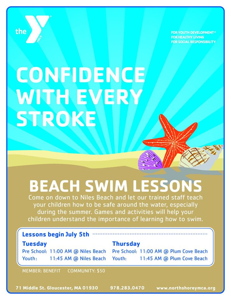 beach swim lessons