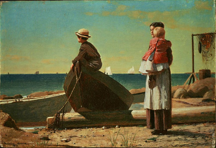 Dad's Coming, 1873, NGA