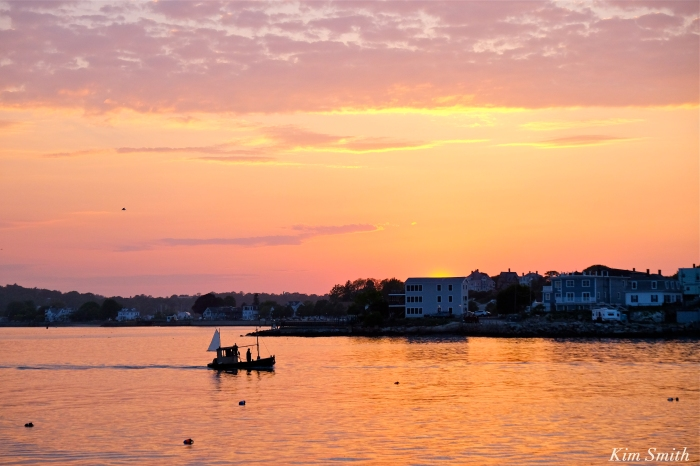 Dominic Nesta Tide Skipper fishing boat Gloucester MA copyright Kim Smith