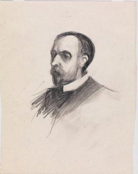 Edward Hopper portrait of artist's father