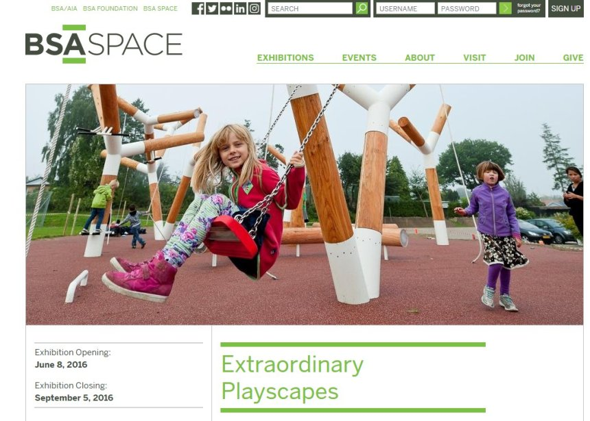 Extraordinary playscapes BSA