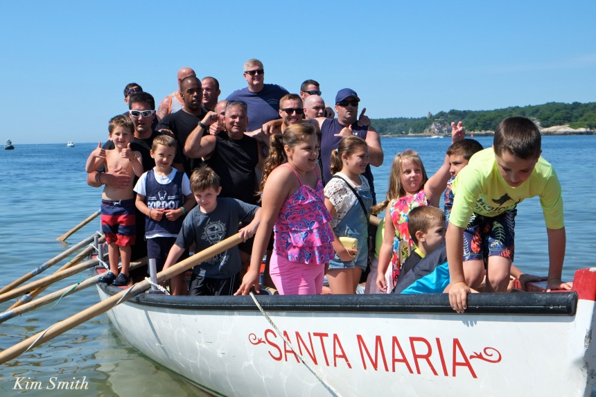 Gloucester PD Seine boat champions copyright Kim Smith