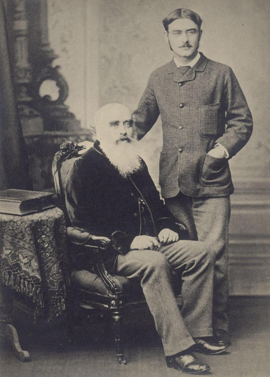 John_Lockwood_Kipling_és_Rudyard_Kipling