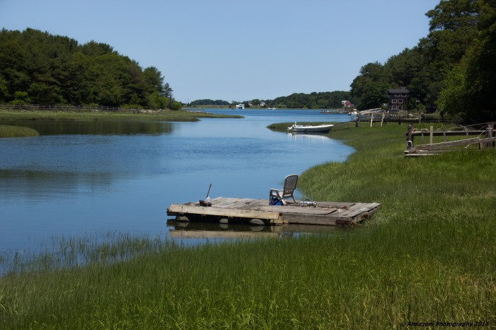 June 24, 2016 Peaceful Friday at high tide on Little River