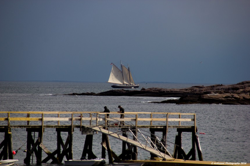 June 8, 2016 Schooner going by Kettle Island